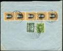 1930 Ecuador. Cover Sent To London. Guayaquil Aug.22.1930.  Overprint Stamps.  (H202c026) - Equateur