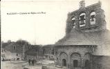 Lozère- Saint-Alban- L'Abside De L'Eglise Et La Place . - Saint Alban Sur Limagnole