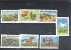 AFGANISTAN Nº 1206 Al 1212 - Pferde