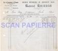 Facture 472 Scierie Mécanique Gabriel Ghienne à Bouchain 1922 - 1900 – 1949