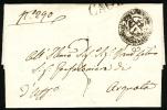 1842 Italy Letter. Pontificial State.  Sent From Cagli To Arguata.  (L04001) - Italia
