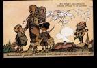"""CPA Illustrée Par MARECHAUX """"Alsace Reconquise... Enfants Cocarde Cigognes Croix...) Ecrite Mais TBE - Illustrateurs & Photographes"""