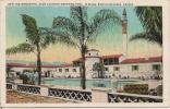New And Wonderful Agua Caliente Swimming Pool, Tijuana, Baja California, Mexico, 1930's To 1950's Color Postcard # 7337 - Mexique
