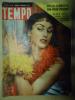 TEMPO N°49 DU 9 DECEMBRE 1954  ALIDA VALLI - Livres, BD, Revues