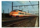 {52848} T.G.V. Train à Grande Vitesse De La S.N.C.F. ; Record Du Monde De Vitesse Sur Rail 380 Km/h Le 26 Février 1981 - Trains