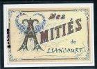 60  LIANCOURT  ... Carte Souvenir ..... Dessin Fusain ..... Edition Luxe - Liancourt
