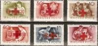 Hongrie Ungarn Hongarije 1957 Yvert N° 1212-13 *** MNH  Cote 7,50 € Croix Rouge Rode Kruis - Hungary