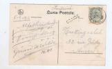 587/18 - Carte- Vue De ALLE Griffe D´ Origine GRAIDE TP Armoiries LIBRAMONT 1912 - Poststempel