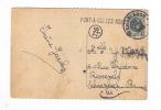 593/18 - Carte-Vue DINANT Griffe D´ Origine PONT A CELLES NORD TP Houyoux CHARLEROY 1923 - Poststempel