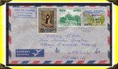 Religion  -  Noël  1968  -  Lettre De Mascusani Pour La France  -  Pérou - Peru
