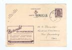 602/18 - Divers , Dont Entier Publibel Et Lettre TP De Bast 1950/1953 - Griffes Origine TERDONCK Et ZELZATE - Poststempel