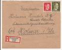 V507 - DIEDOLSHAUSEN - 1944 - Recommandé  Au Tarif 42 Pfennig - LE BONHOMME - - Marcophilie (Lettres)