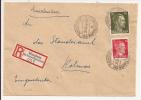 V520 - KIENZHEIM KR RAPPOTSWEILER - 1944 - Recommandé  Au Tarif 42 Pfennig - KIENTZHEIM - - Marcophilie (Lettres)