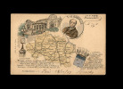 03 Allier Departement Carte Blason - France