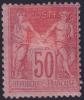 *PROMO* 50c Sage Rose Au Type 2 Neuf * Aspect TB (Y&T N° 98, Cote 275€) - 1876-1898 Sage (Type II)