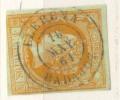 Año 1860 Edifil 52 4c  Isabel II Matasellos LLerena Badajoz - 1850-68 Royaume: Isabelle II