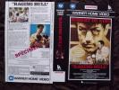JAQUETTE - VHS - RAGING BULL - ROBERT DE NIRO - MARTIN SCORSESE - JAQUETTE SPECIMEN - BOXE - Classic