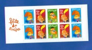 N° BC 3751 A  TITEUF MANU NADIA  NEUF ** ( JE LIQUIDE TOUT MA COLLECTION)( 5 TIMBRES NEUF** ACHETEE PORT GRATUIT) - Booklets