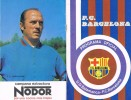 Programa Oficial F.C. BARCELONA  1976, Encuentro Futbol Salamanca -Barça - Programas