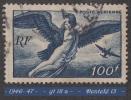1946- 47 -  Europe - France - Poste Aérienne - Egine Enlevée Par Jupiter - 100 F.  Bleu-nuit - - Luftpost