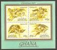 Noël Christmas ** MNH Ghana  BF 60 Anges Musiciens Musique - Christmas