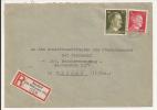 V532 - NEUDORF KR MULHAUSEN - 1942 - Recommandé  Au Tarif 42 Pfennig - VILLAGE NEUF  - - Marcophilie (Lettres)