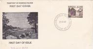 Norfolk Islands-1960 Surcharges 2s8d  FDC - Norfolk Island