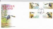 Norfolk Islands-2004 Kingfishers FDC - Norfolk Island