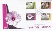 Norfolk Islands-2007 Flowers FDC - Norfolk Island