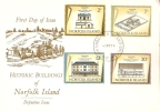 Norfolk Island-1974 Historic Building Of Norfolk Island  May 74 FDC - Norfolk Island