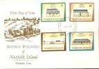 Norfolk Island-1974 Historic Building Of Norfolk Island Jul 74 FDC. - Norfolk Island