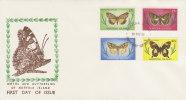 Norfolk Island-1977 Butterflies Dated May 77 FDC - Norfolk Island