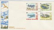 Norfolk Island-1980 Aircrafts 2 Sept 80 FDC - Norfolk Island