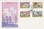 Norfolk Island-1981 Christmas FDC - Norfolk Island