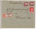 V569 - STEINBACH - 1944 - Recommandé  Au Tarif 42 Pfennig - STEINBACH - - Marcophilie (Lettres)