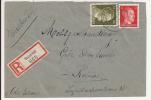 V572 - SULZMATT - 1943 - Recommandé  Au Tarif 42 Pfennig - SOULTZMATT - - Marcophilie (Lettres)