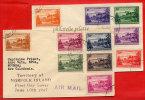 NORFOLK 2 LETTRES FDC DU 10/06/1947 POUR NOUMEA NOUVELLE CALEDONIE COVER - Isola Norfolk