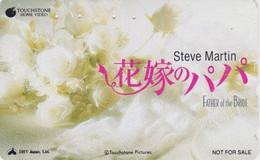 Télécarte Japon / 110-181666 - CINEMA Film - FAIR GAME / Cindy CRAWFORD & W. BALDWIN Japan Movie Phonecard - 916 - Cinema