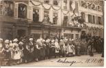 Morhange Carte Photo Entrée Du 32e C.A. Commandé Par Le Général Passaga Le 18 11 1918 - Morhange