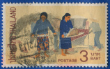 1971  Asie - Thailande - Vie Rurale - Nettoyage Des Graines De Riz - 3 B Polychrome - - Thailand
