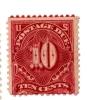 USA Postage Due Stamp - 1894 - J 35 -10c Deep Claret -( 3890) - 1847-99 Emissions Générales