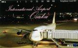 TELECARTE DU JAPON  AVION QUI RECONNAITRA?  VOIR SCANNER - Vliegtuigen