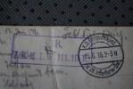 5-6-1916 GUERRE >S.B. >J.R.M.L.W. 111. 10R CACHET MILITAIRIA KARTE SOLDAT 3RYL ARM23- 5 KOMP 5 ARM. STION 253 DEUT - Germany