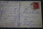 DEUTSCHE REICH 1919  DE KARLSRUHE     COVER  MARCOPHILIA  POUR   KFIENGEN  SUR CPA KARLSRUHE - Briefe U. Dokumente