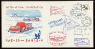 ANTARCTIC Station Mirny Base Pole Mail Used Cover USSR RUSSIA Penguin Ship RAE-39 - Unclassified