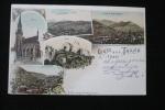 Taxe Gerbes 15c   Sur  CP Gruss Thann Alsace 7/6/11 St Amarin - Marcophilie (Lettres)
