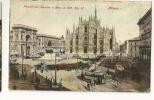 D7151 -MILANO - Piazza Del Duomo E Mon. A Vitt. Em II - Milano (Mailand)