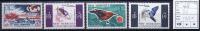 New Hebrides: Michel 236-239, Neuf** /MNH - Engelse Legende