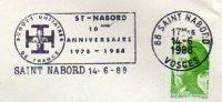 88  SAINT NABORD  10° Anniversaire Des Scouts Unitaires De France 1978/1988  14/06/88 - Scouting