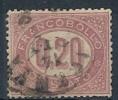 1875 REGNO USATO SERVIZIO DI STATO 20 CENT - RR9589 - Servizi